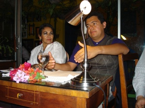 Lectura de Erick Vargas en Café Paradiso