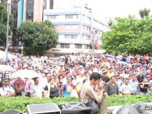 Honduras en Resistencia contra el Golpe de Estado fascista de 28 de junio de 2009