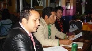 Samuel Trigueros, acompañado de Gabriel Vallecillo, Lectura en Café Paradiso