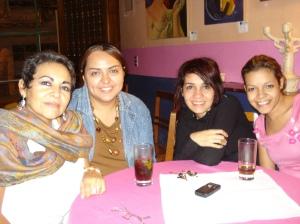 Karen Valladares, Mayra Oyuela, Mayte y Anarella Vélez