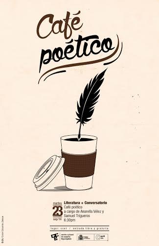 en el CCET café poético 2