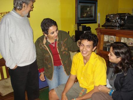 FER, PENNY, MAMA Y PAPA