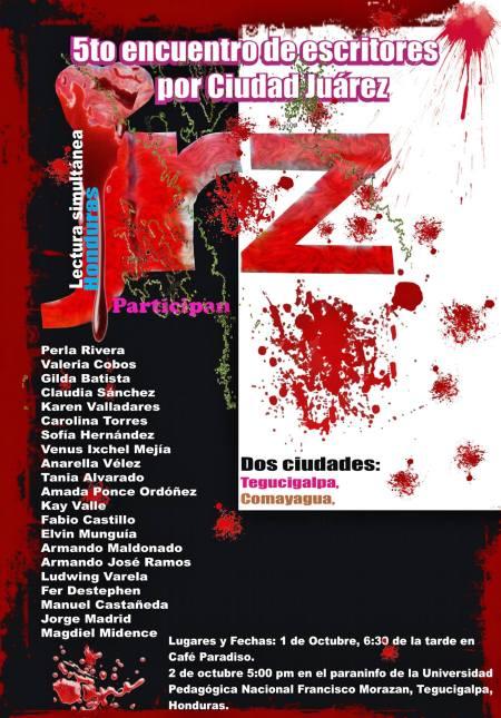 lectura de poesía por ciudad juarez