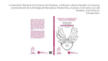 Antología de Narradoras Hondureñas, convocatoria 1
